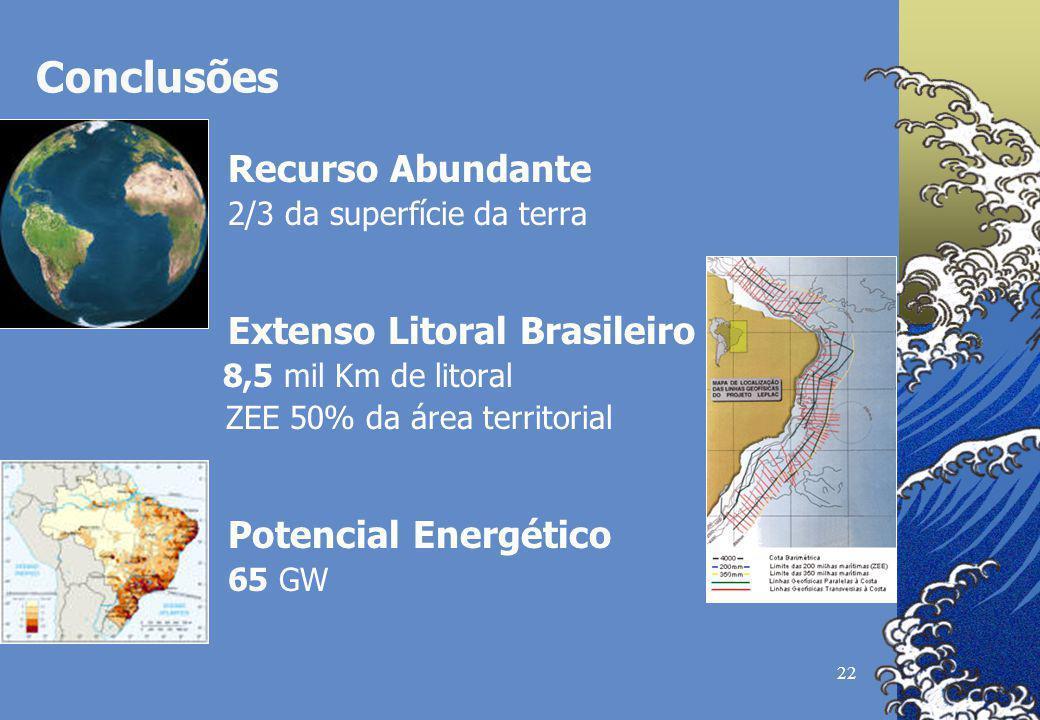 • Energia previsível, com estimativas seguras
