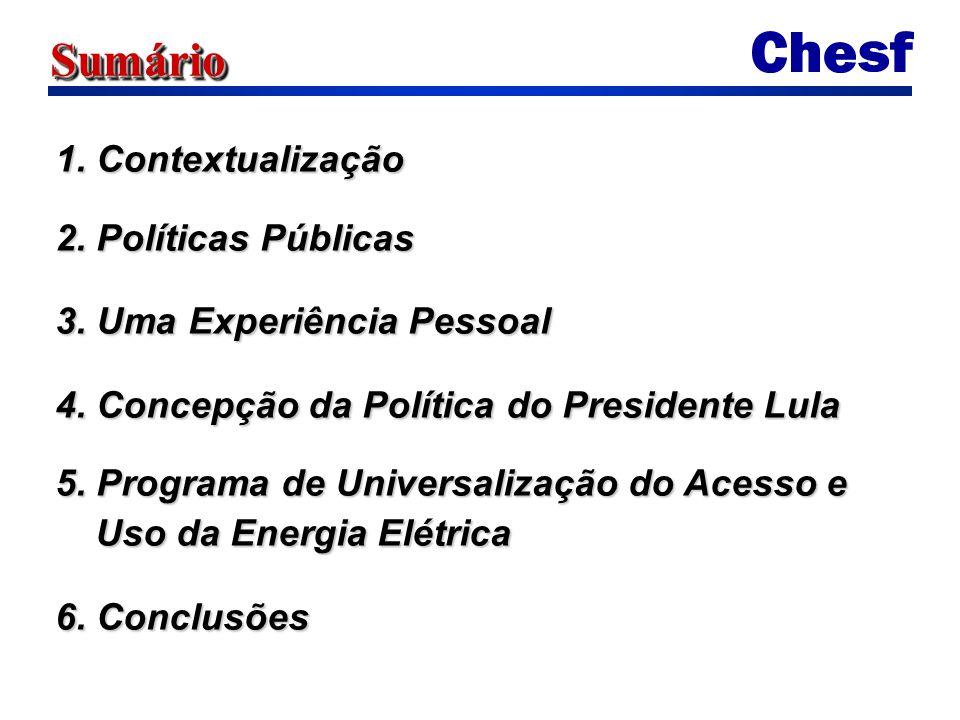 Sumário 1. Contextualização 2. Políticas Públicas