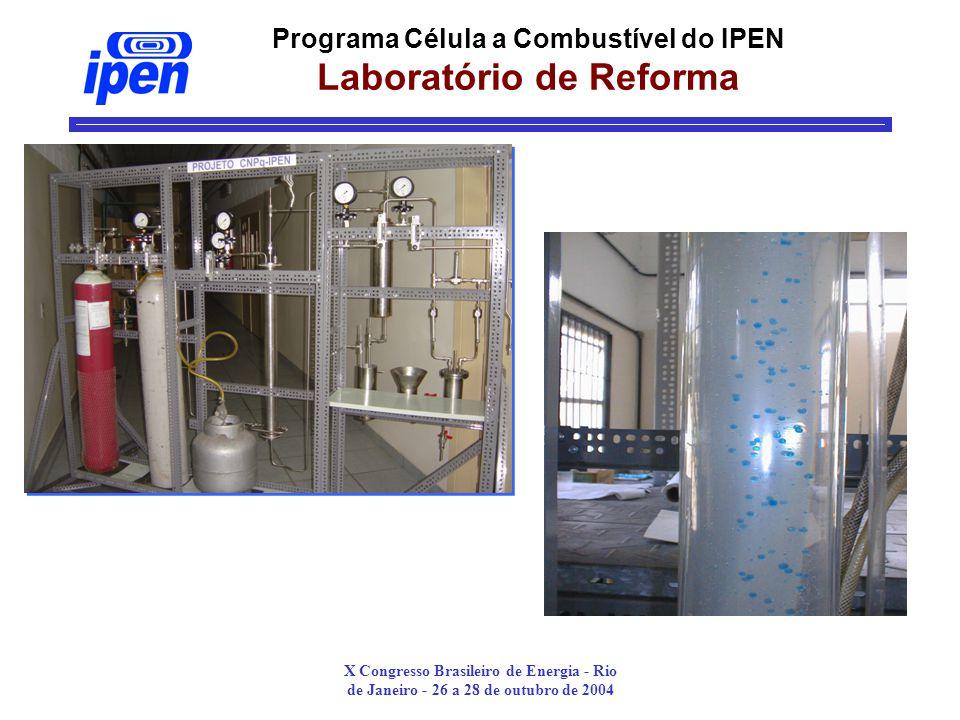 Programa Célula a Combustível do IPEN Laboratório de Reforma