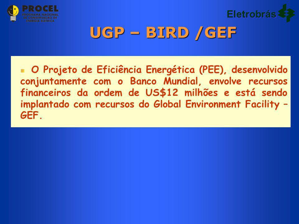 UGP – BIRD /GEF Eletrobrás