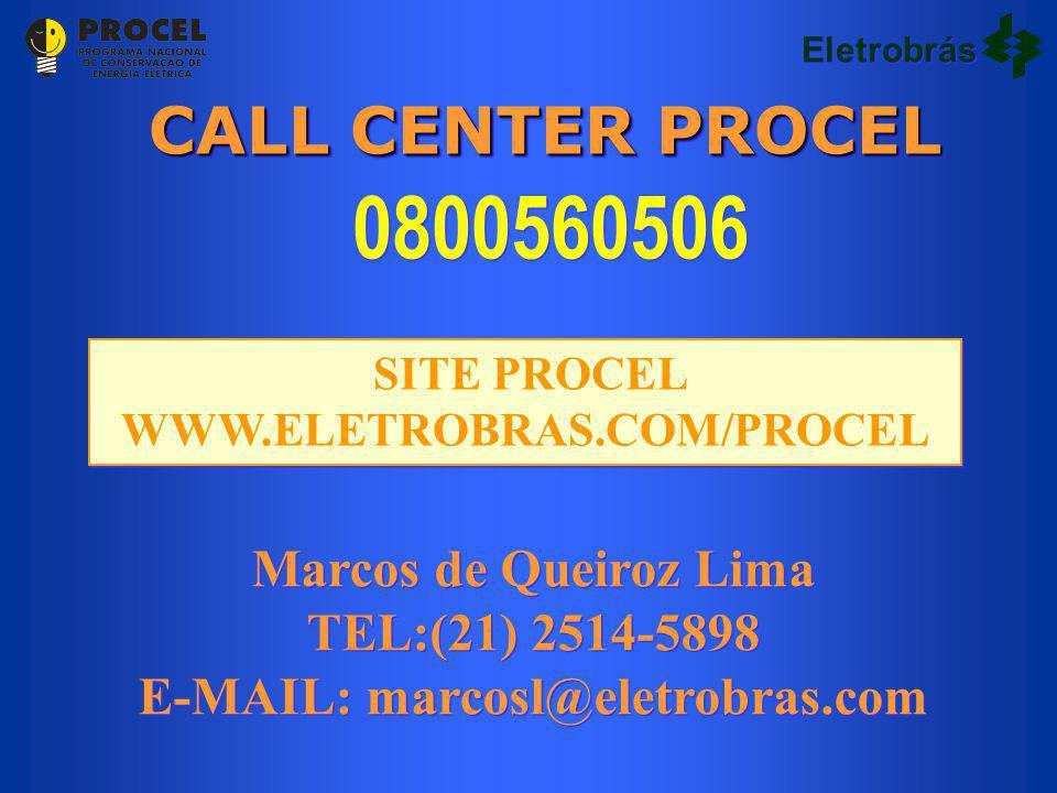 SITE PROCEL WWW.ELETROBRAS.COM/PROCEL