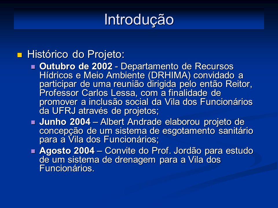 Introdução Histórico do Projeto: