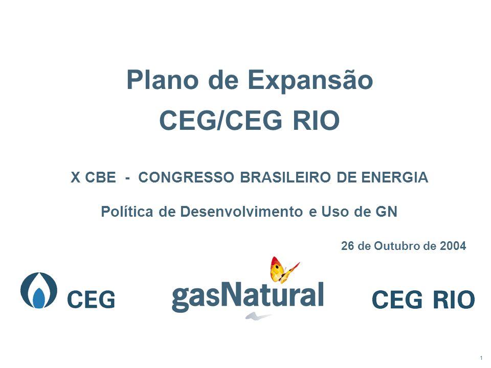 Plano de Expansão CEG/CEG RIO