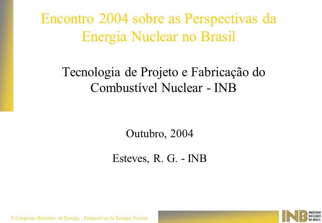 Tecnologia de Projeto e Fabricação do Combustível Nuclear - INB
