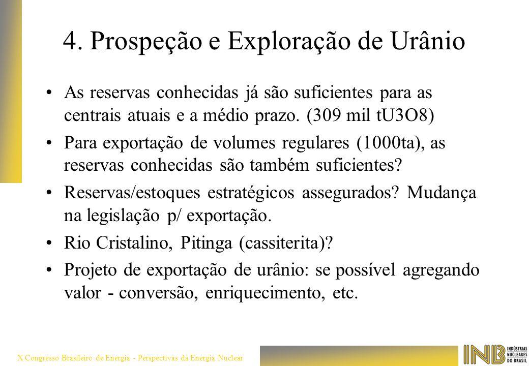 4. Prospeção e Exploração de Urânio