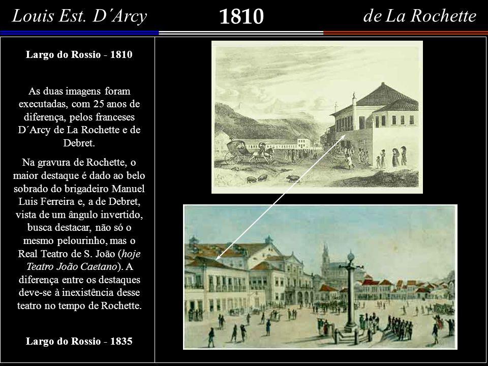 1810 Louis Est. D´Arcy de La Rochette View in Rio de Janeiro