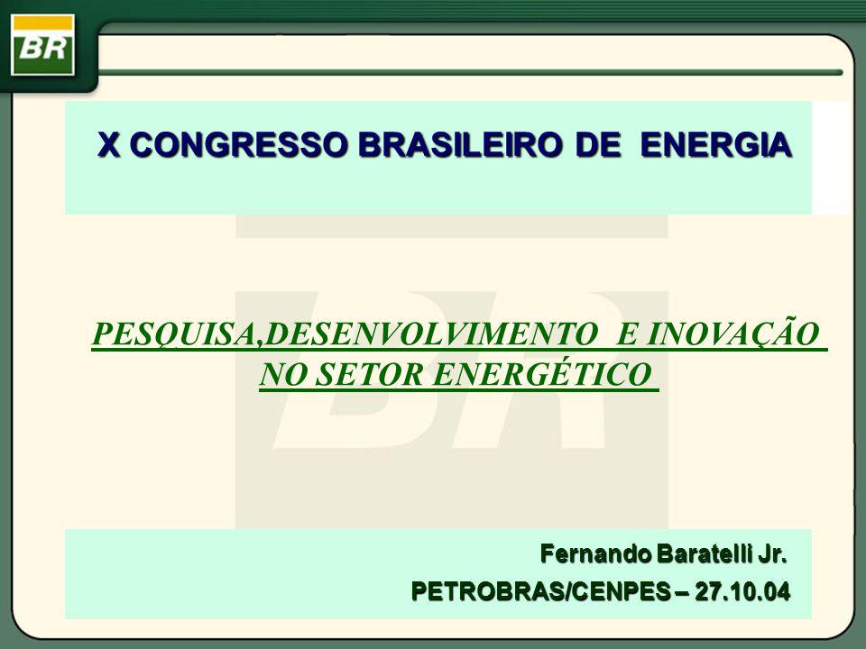 X CONGRESSO BRASILEIRO DE ENERGIA