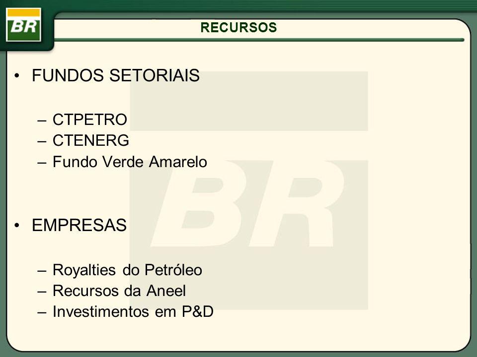 FUNDOS SETORIAIS EMPRESAS CTPETRO CTENERG Fundo Verde Amarelo