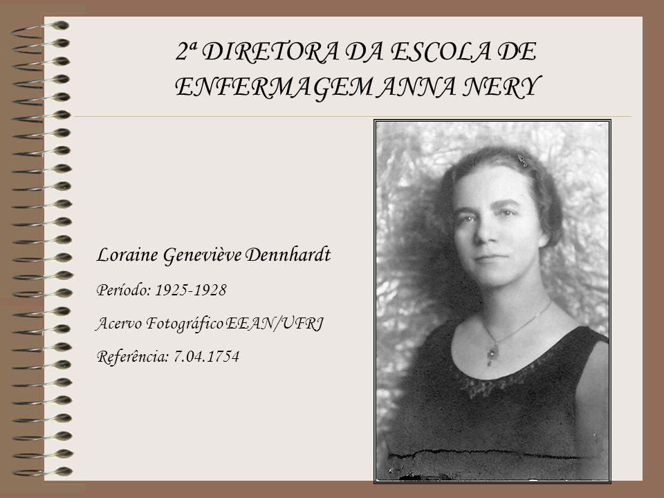 2ª DIRETORA DA ESCOLA DE ENFERMAGEM ANNA NERY