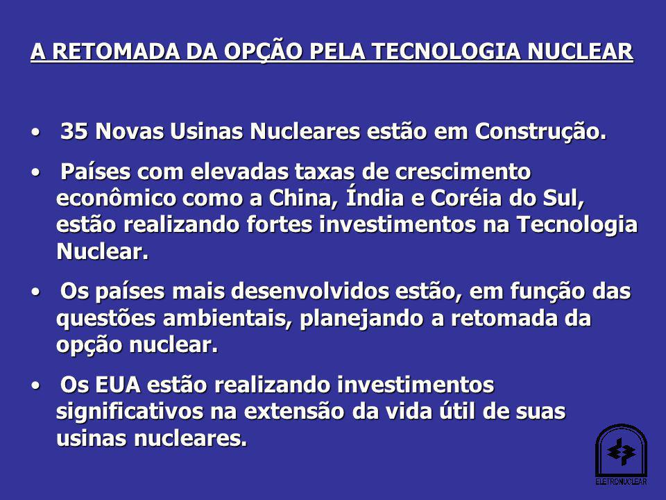 A RETOMADA DA OPÇÃO PELA TECNOLOGIA NUCLEAR