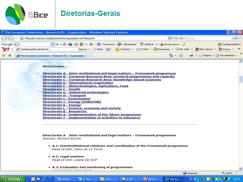 Diretorias-Gerais