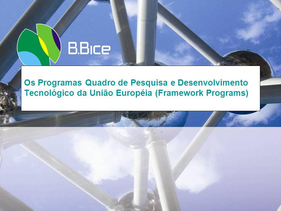 Os Programas Quadro de Pesquisa e Desenvolvimento Tecnológico da União Européia (Framework Programs)