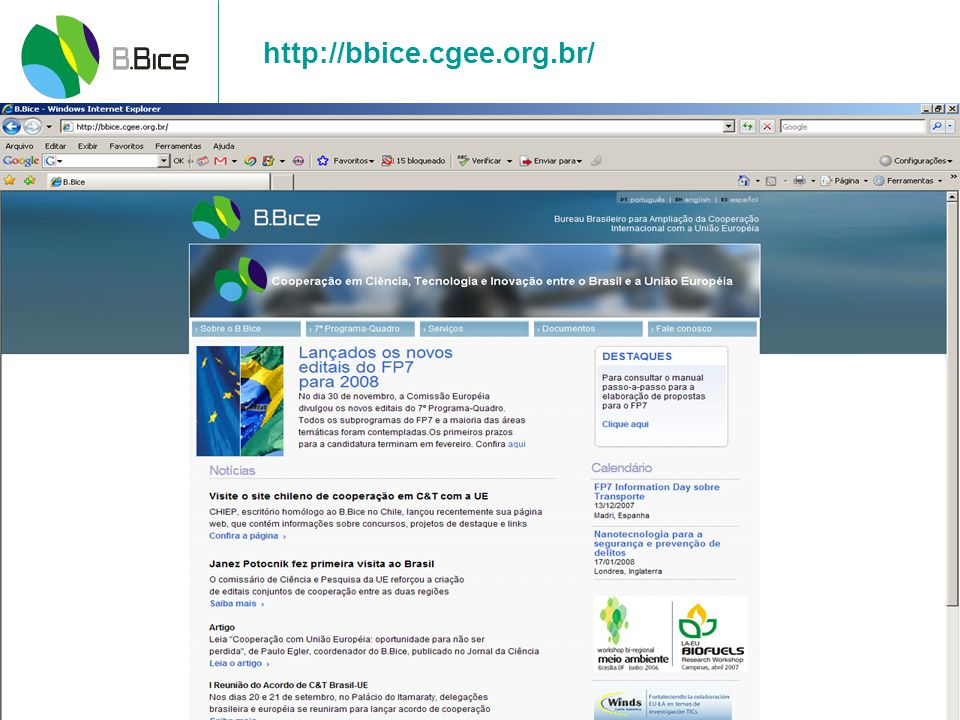http://bbice.cgee.org.br/