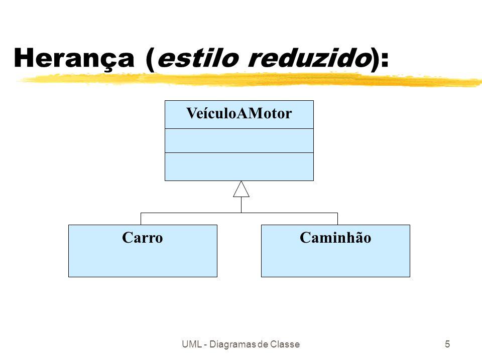 Herança (estilo reduzido):
