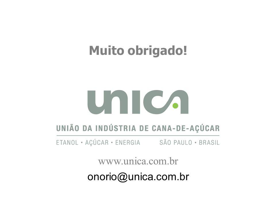 Muito obrigado! www.unica.com.br onorio@unica.com.br