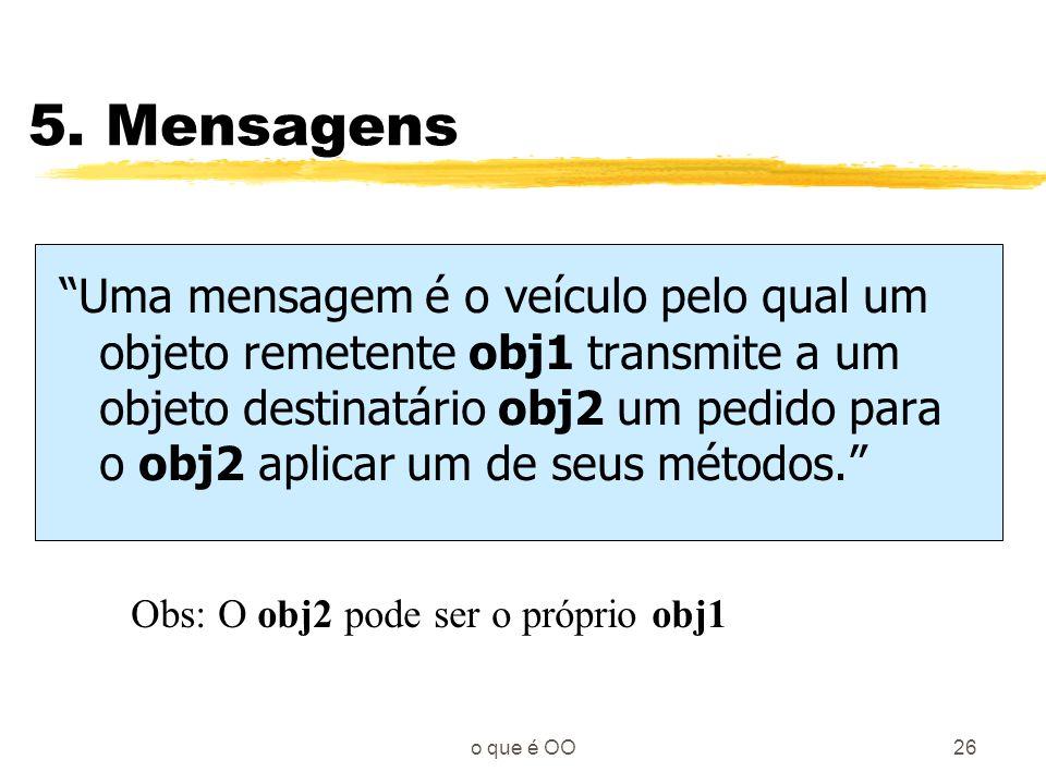 5. Mensagens