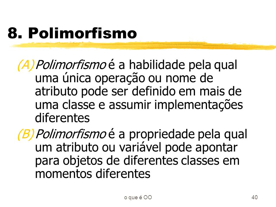 8. Polimorfismo