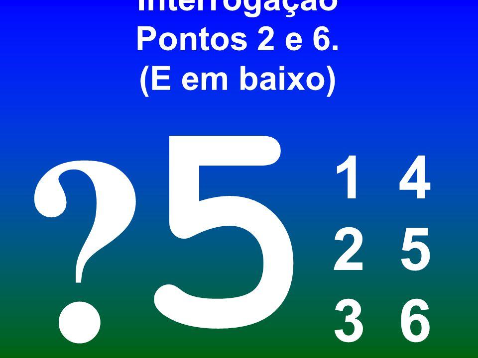 Interrogação Pontos 2 e 6. (E em baixo)