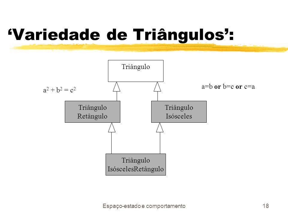 'Variedade de Triângulos':
