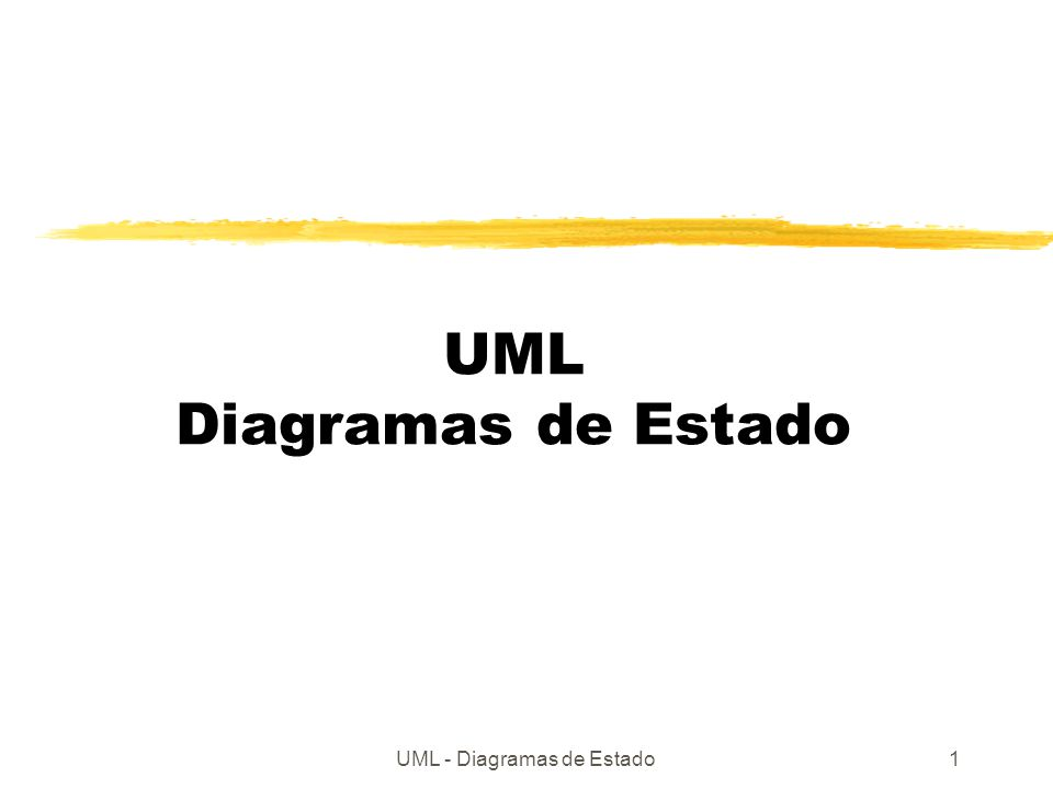 UML Diagramas de Estado