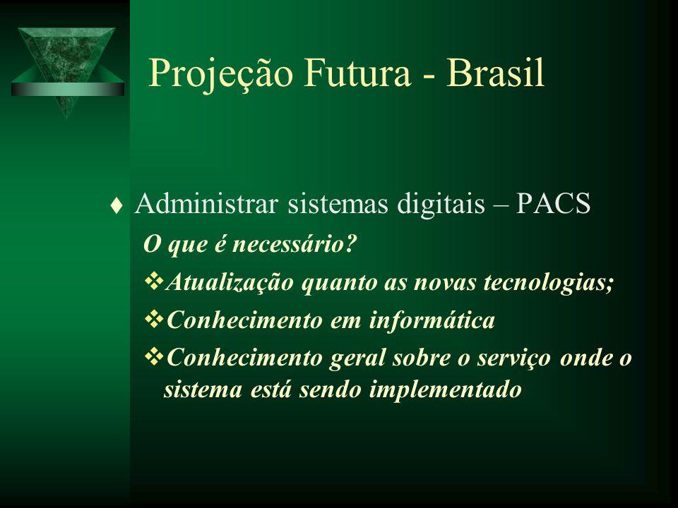 Projeção Futura - Brasil