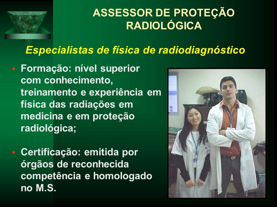 ASSESSOR DE PROTEÇÃO RADIOLÓGICA