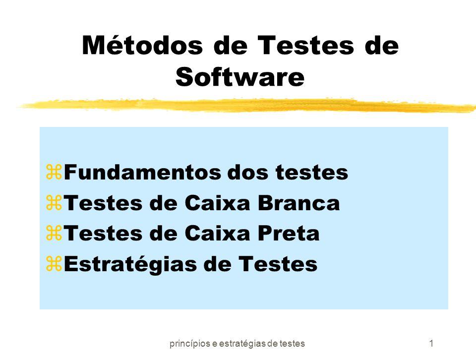 Métodos de Testes de Software