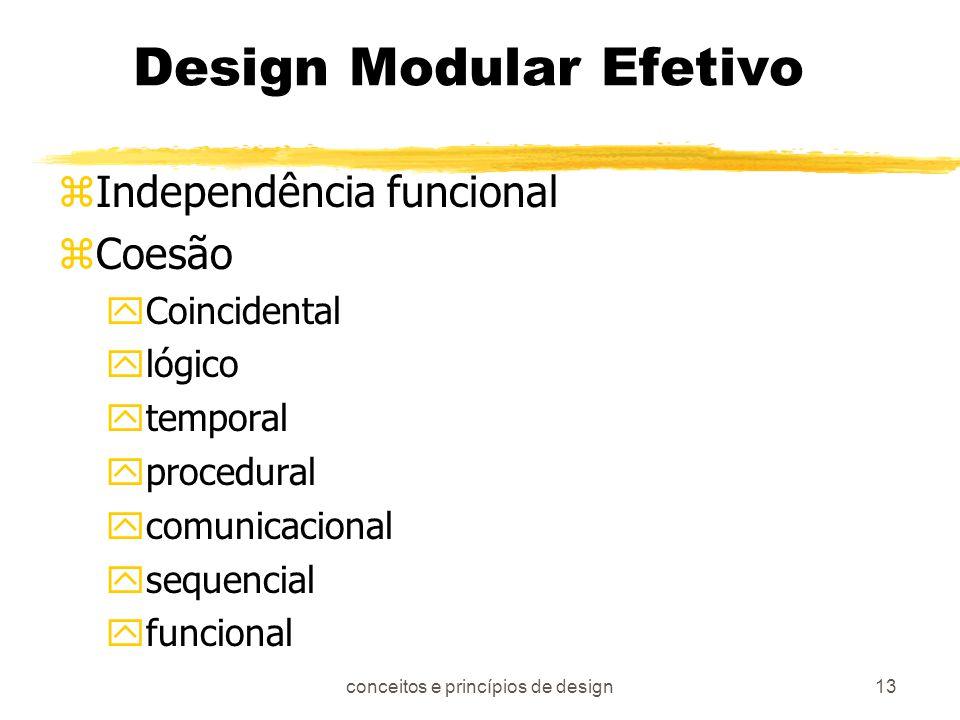 Design Modular Efetivo