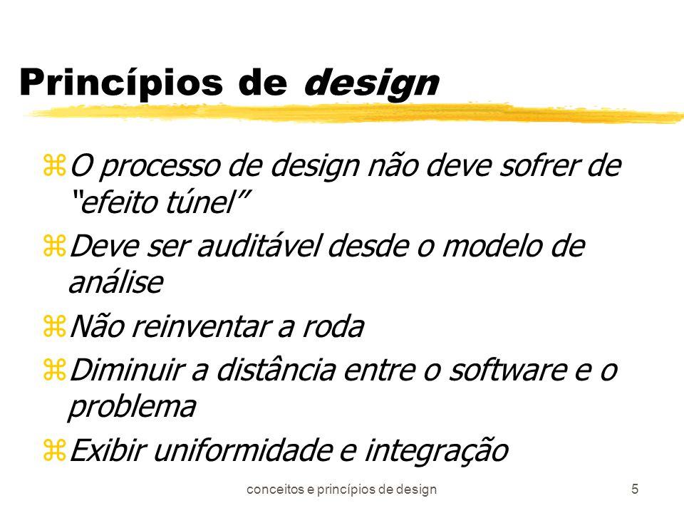 conceitos e princípios de design
