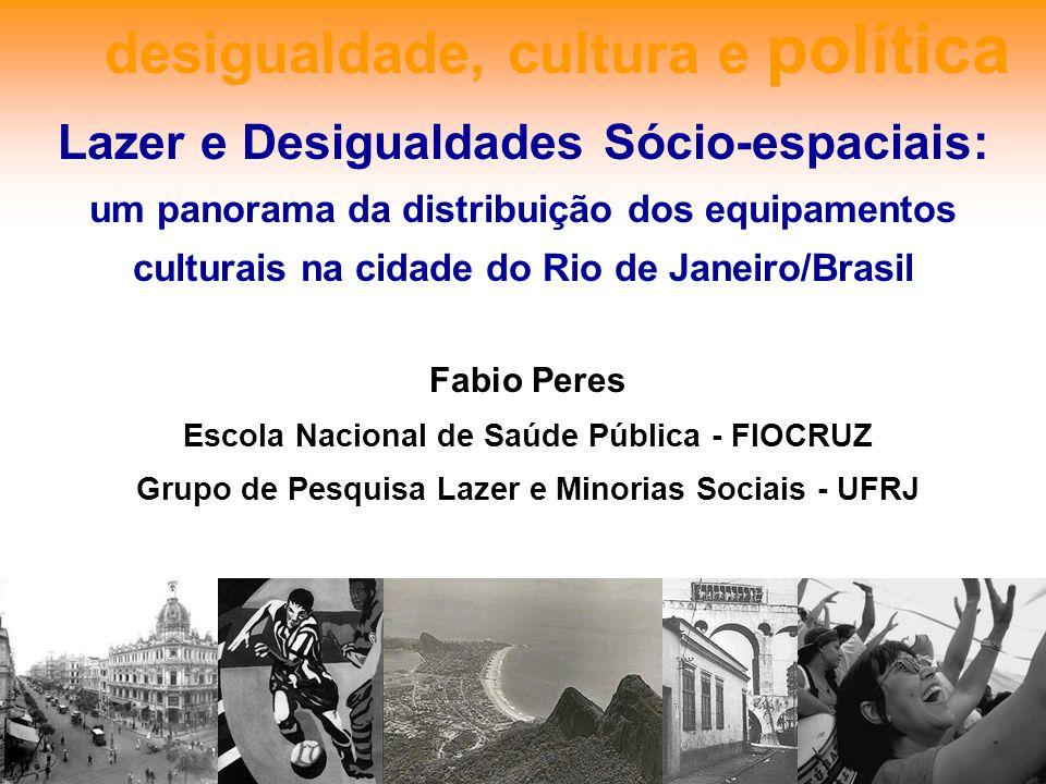 desigualdade, cultura e política