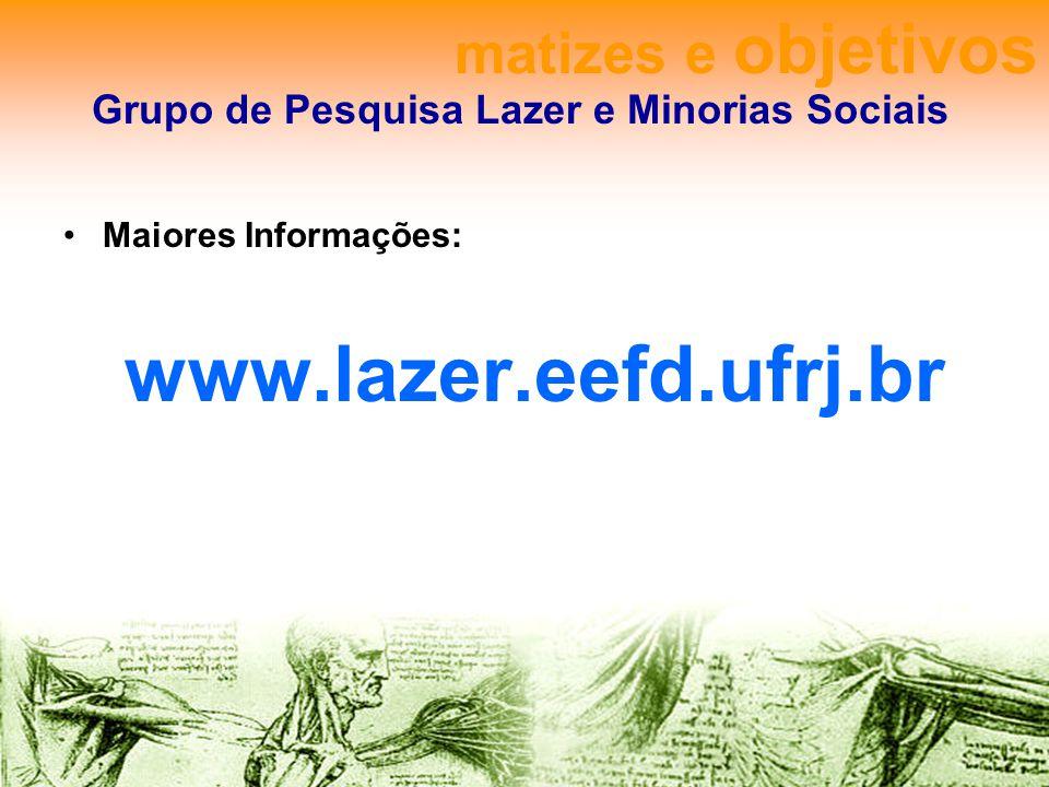 Grupo de Pesquisa Lazer e Minorias Sociais