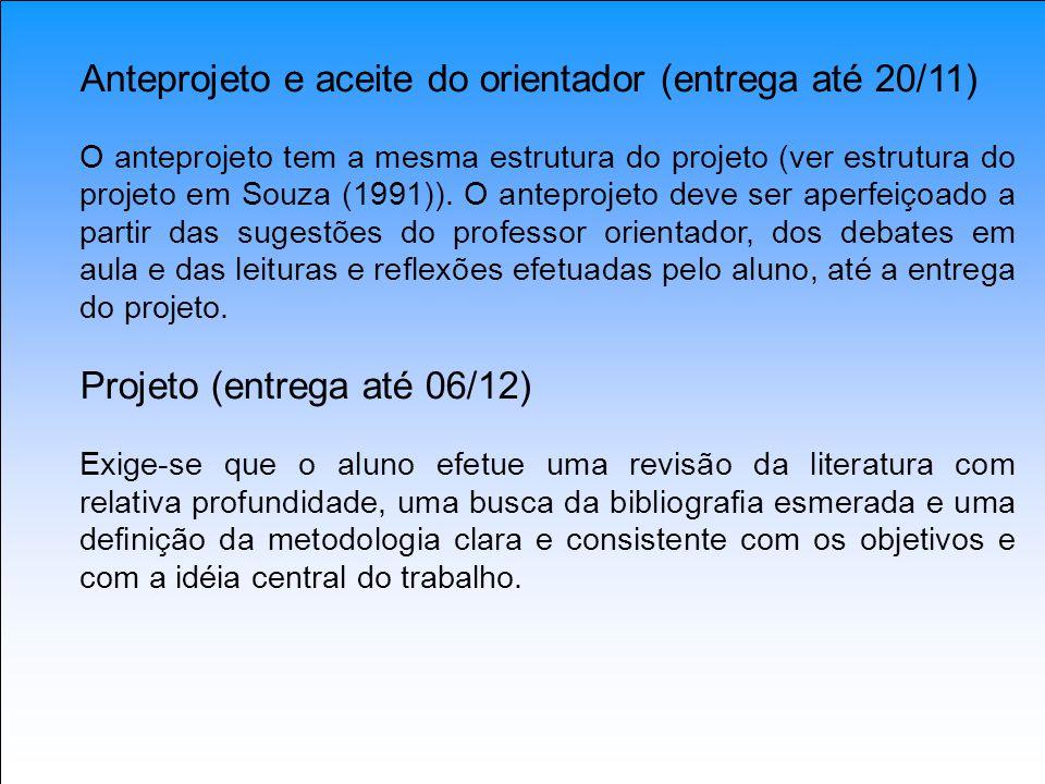 Anteprojeto e aceite do orientador (entrega até 20/11)
