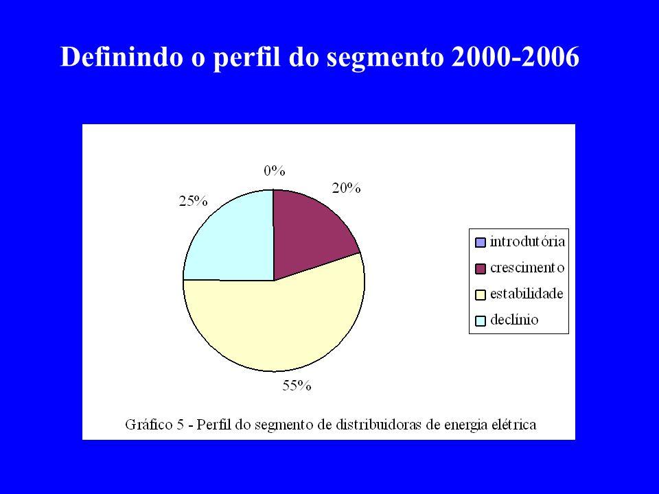 Definindo o perfil do segmento 2000-2006