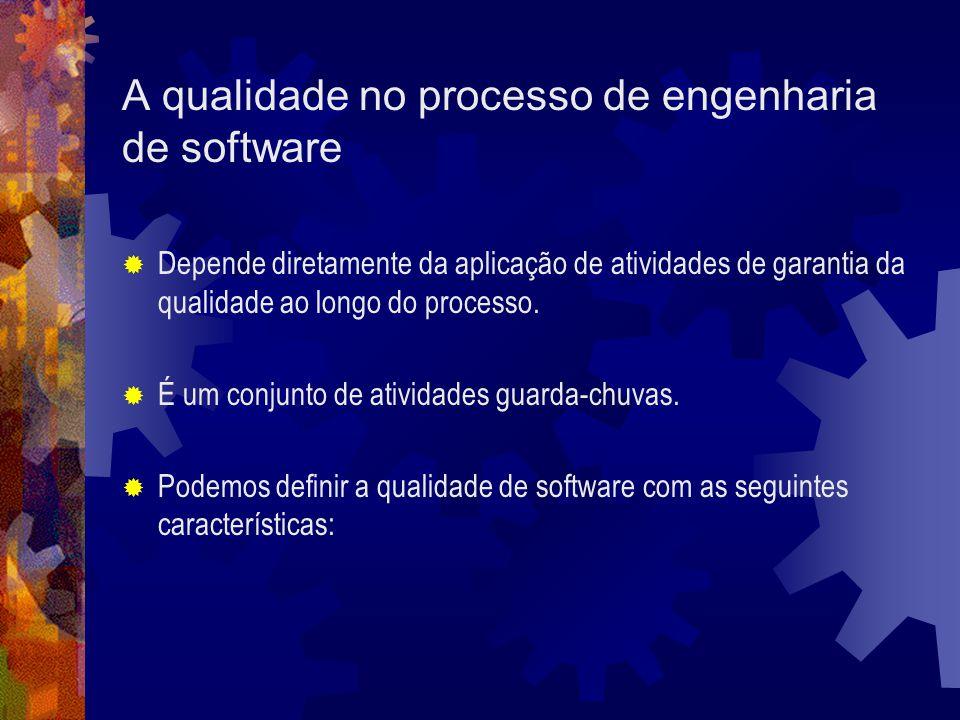 A qualidade no processo de engenharia de software