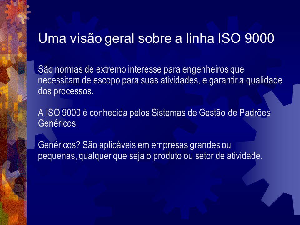 Uma visão geral sobre a linha ISO 9000