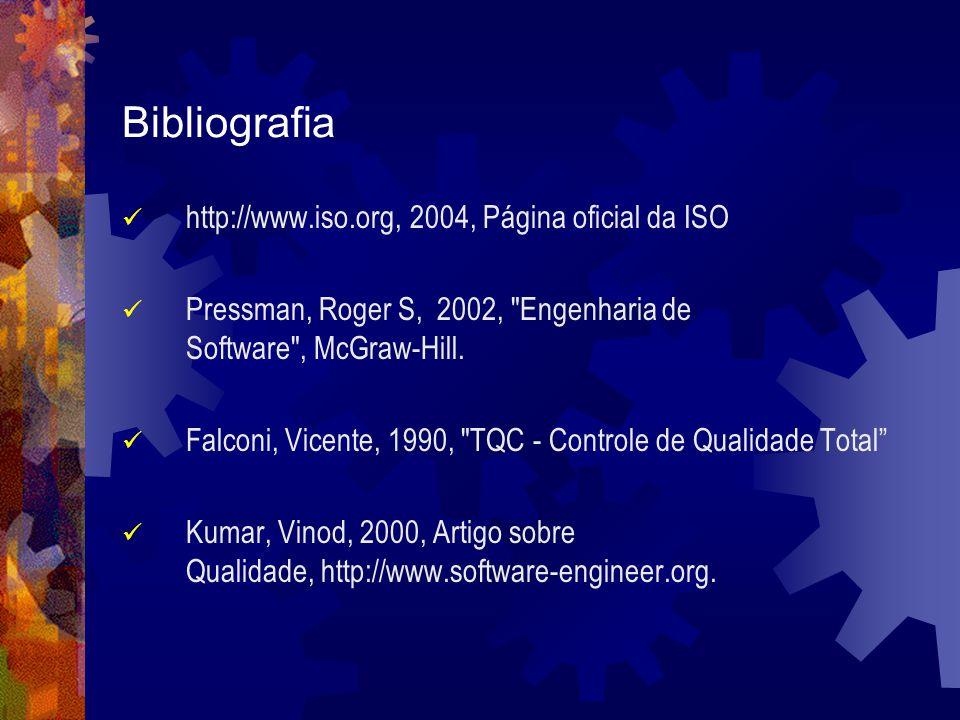 Bibliografia http://www.iso.org, 2004, Página oficial da ISO