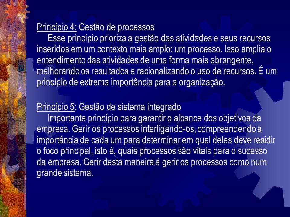 Princípio 4: Gestão de processos