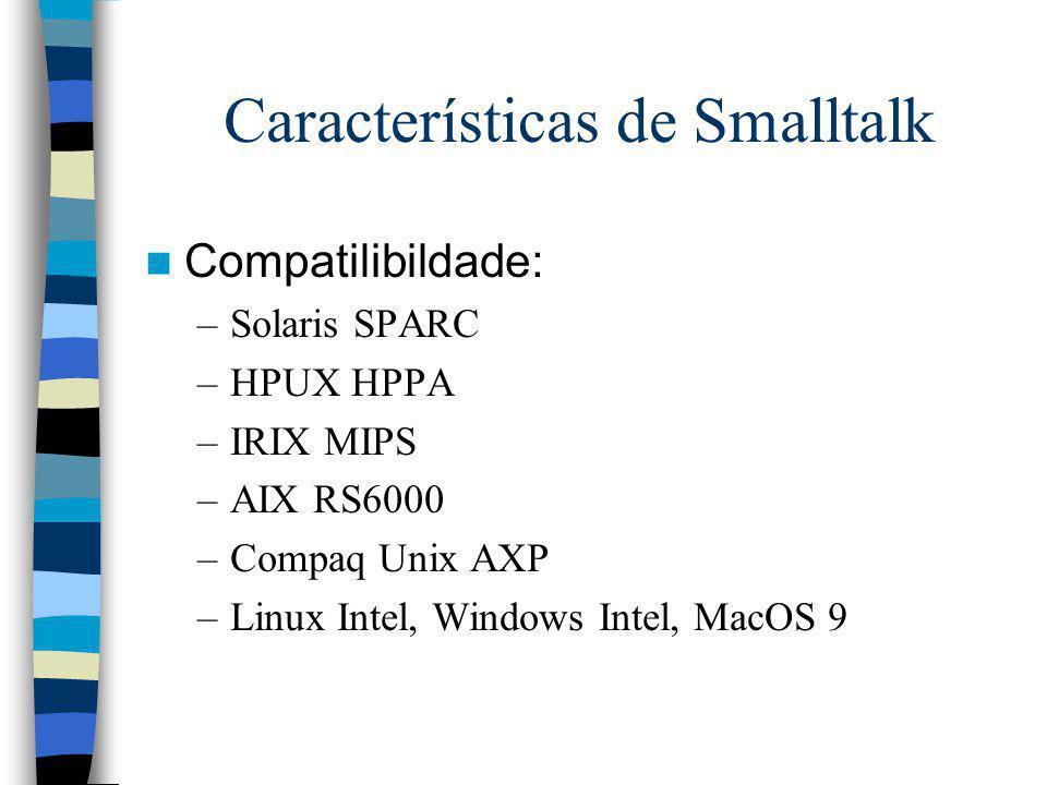 Características de Smalltalk