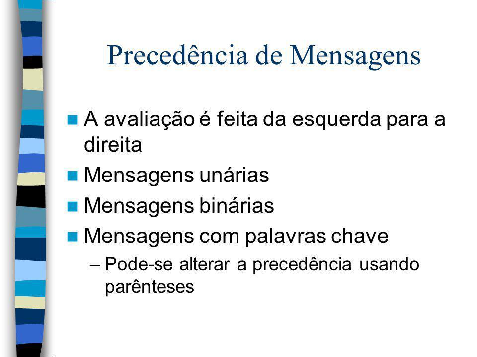 Precedência de Mensagens