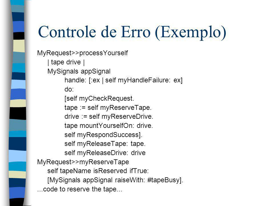 Controle de Erro (Exemplo)