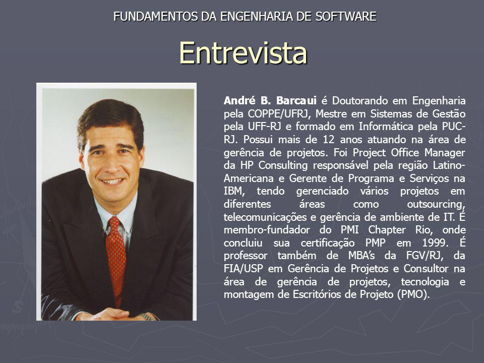 Entrevista FUNDAMENTOS DA ENGENHARIA DE SOFTWARE