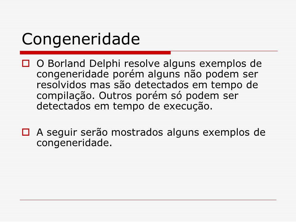 Congeneridade