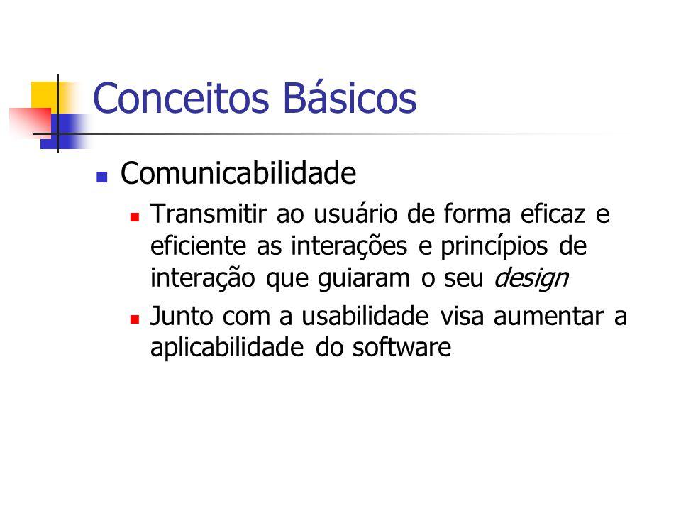 Conceitos Básicos Comunicabilidade