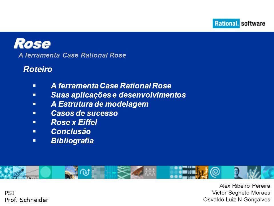 Rose Roteiro A ferramenta Case Rational Rose