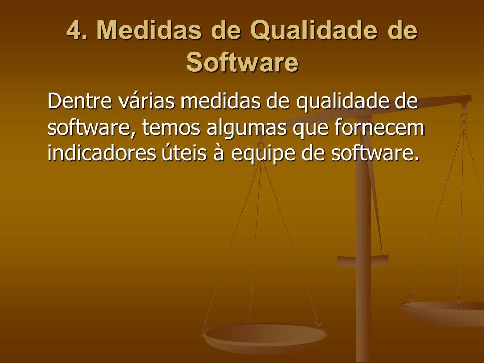 4. Medidas de Qualidade de Software