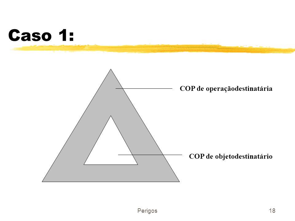 COP de operaçãodestinatária COP de objetodestinatário