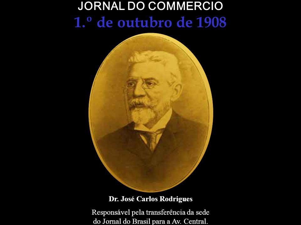 1.º de outubro de 1908 JORNAL DO COMMERCIO