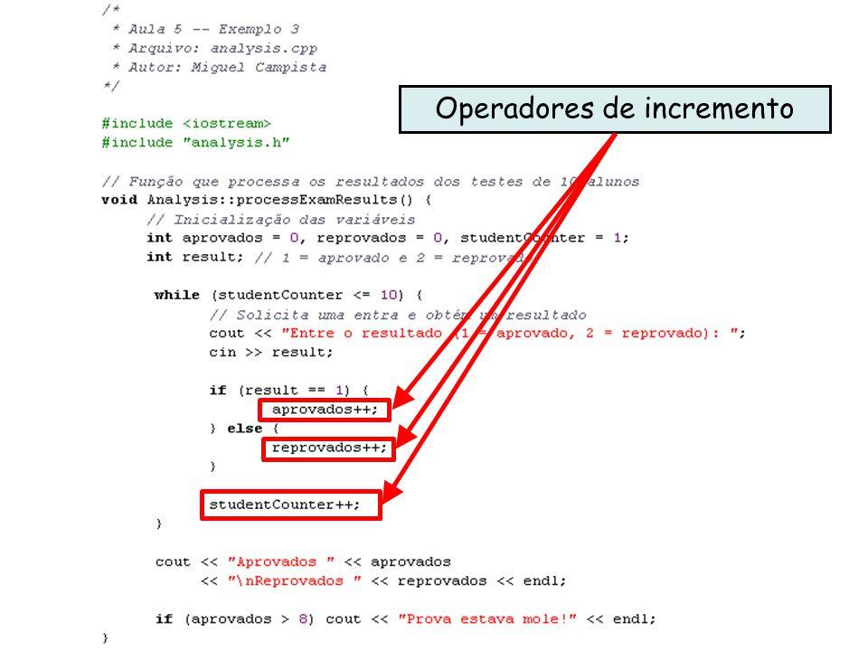 Décimo Primeiro Exemplo utilizando Classes em C++