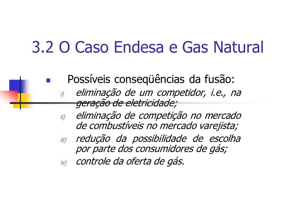 3.2 O Caso Endesa e Gas Natural