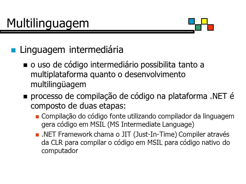 Multilinguagem Linguagem intermediária
